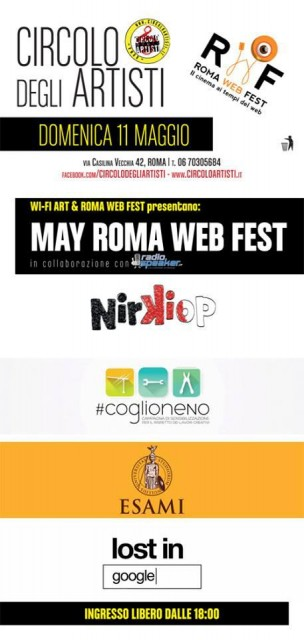 ROMA WEB FEST & RADIOSPEAKER.IT